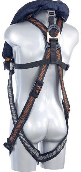 Edge Safety V33 BEAVER Life safety vest back side