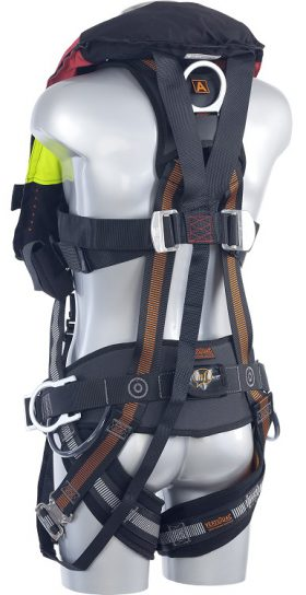 Edge Safety V53 OFFSHORE Solas back side
