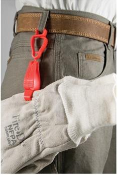 Glove clip type Handy Klip