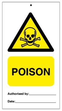 75DF125001KE Tie Tag Poison Denfoil