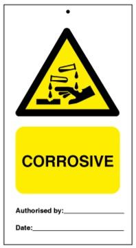 75DF125004KE Tie Tag Corrosive Denfoil