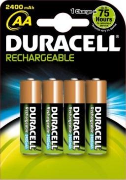 Batterij Duracell HR6 AA