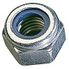 DIN 985 Hexagon locknut galvanized