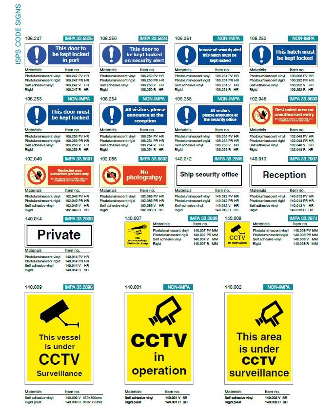 Denfoil ISPS Code signs 02