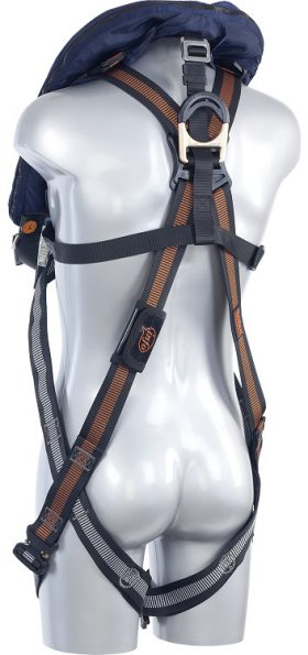 Edge Safety V33 BEAVER Life safety vest back side