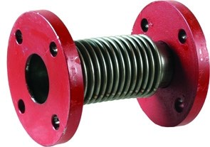 Expansion joint metal bellow element
