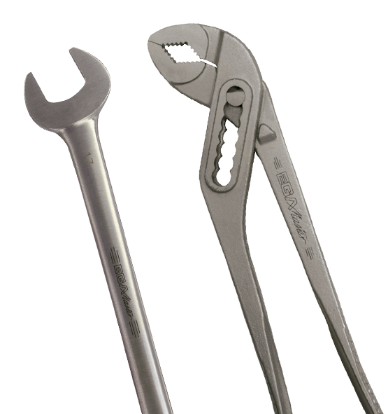 INOX (stainlees steel) tools