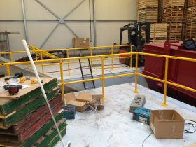Installing the Swiss Solutions Modular Hand Rail System