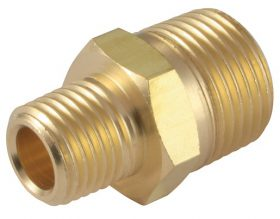 Male adapter unequal 245 brass