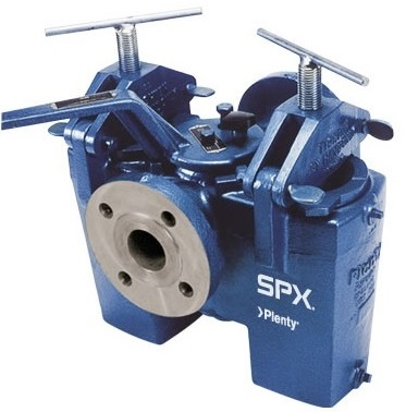 SPX small Duplex D-Type Basket Strainer 1-8 inch