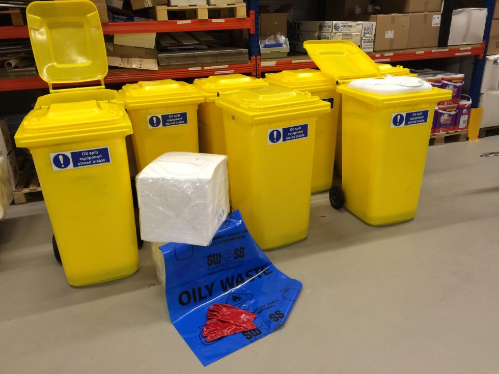 Swiss Solutions Custom Made Oil Spill Kits