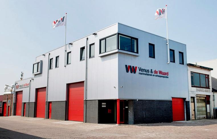 Venus & de Waard headquarters