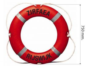 Lifebuoy for Seagoing vessels 4.5 kilo with optional text
